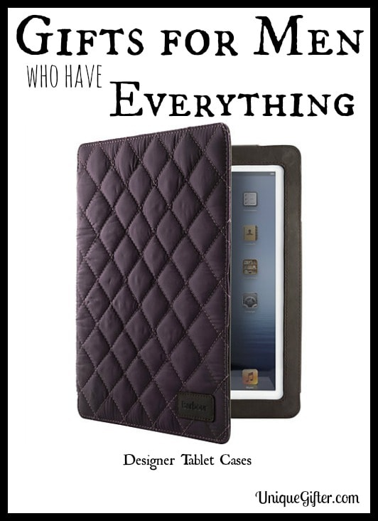 Gifts for Men who have Everything: Designer Tablet Cases
