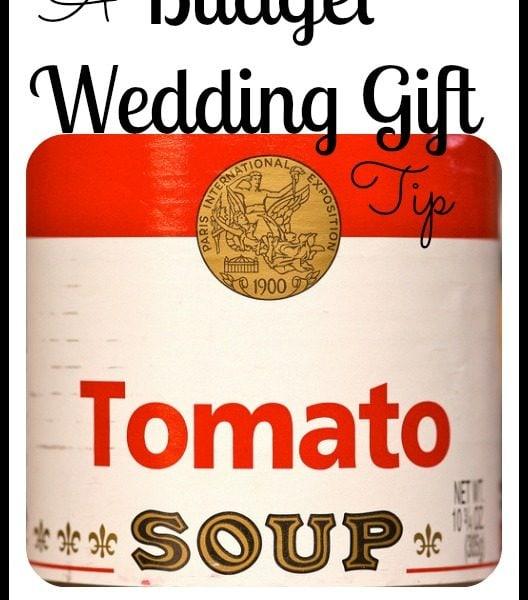 Budget Wedding Gift Tip