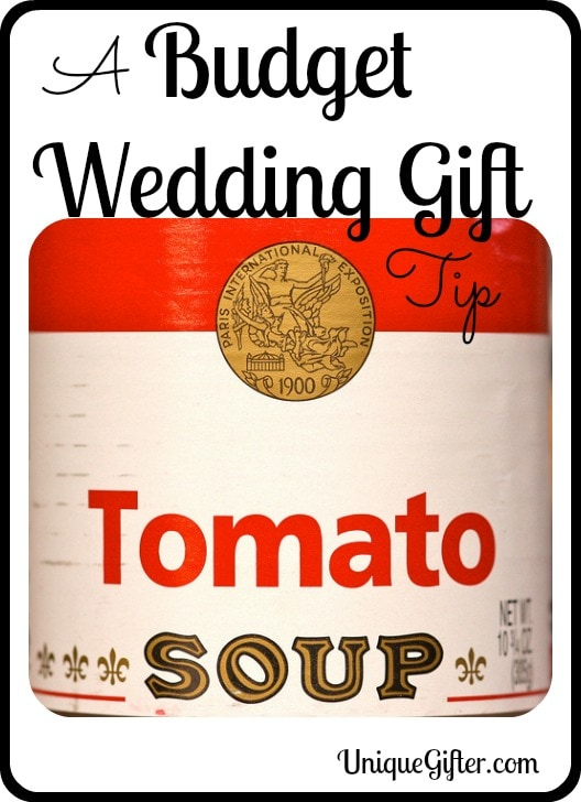 A Budget Wedding Gift Tip