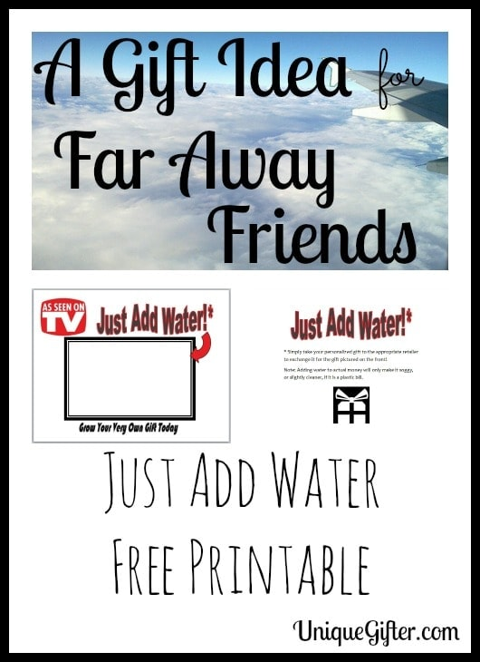 Just Add Water Gifts