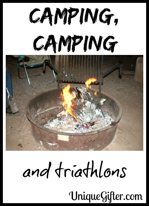 Camping, Camping and Triathlons