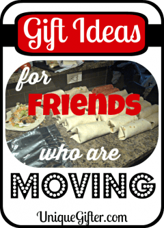 Gift Ideas for Friends Who are Moving