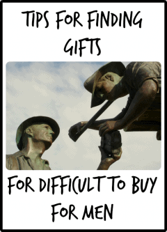 Tips for Finding Gifts for Men who are Difficult to Buy for