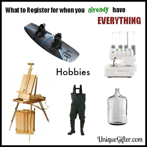 What to Register for- Hobbies