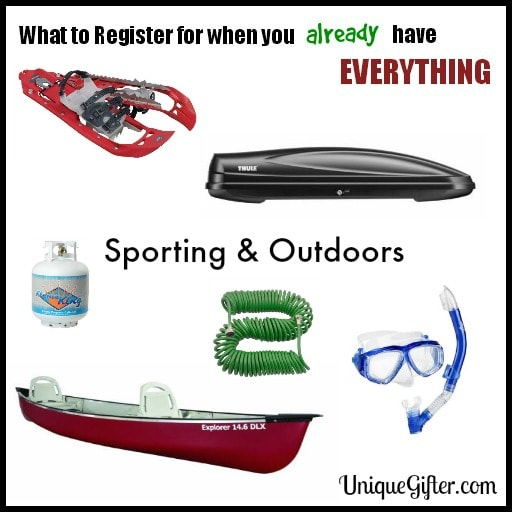 What to Register for - sporting