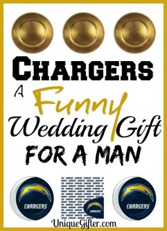 Chargers: A Funny Wedding Gift for a Man