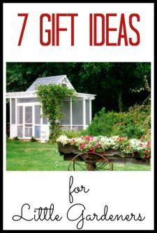 7 Gift Ideas for Little Gardeners