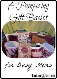Pampering Gift Basket for a Busy Mom