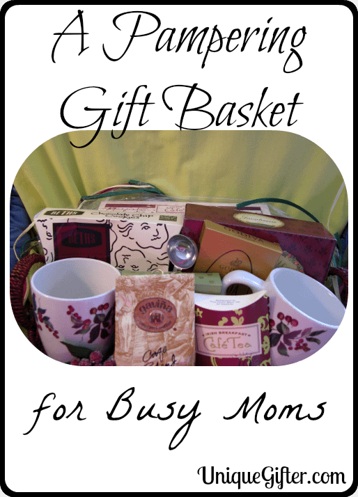 A Pampering Gift  Basket for Busy Moms