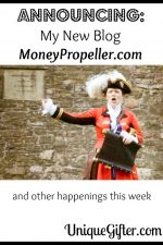 Announcing my new blog MoneyPropeller