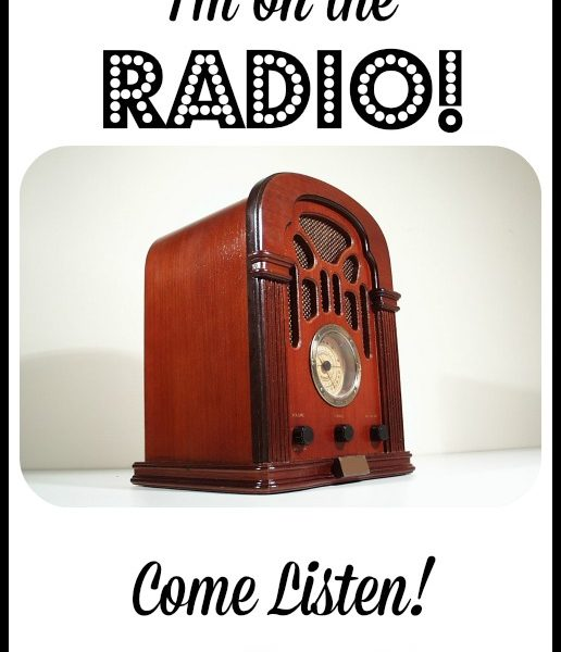 I'm on the Radio! Come Listen Online