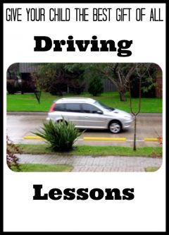 Give Your Child The Best Gift Of All: Driving Lessons