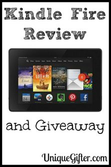 Kindle Fire Review and Giveaway