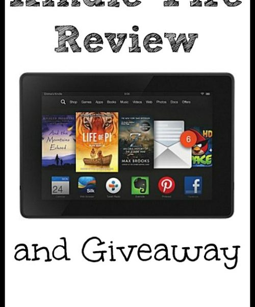 Kindle Fire Review and #Giveaway