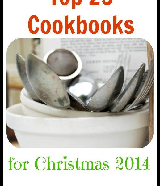 Top 25 Cookbooks for Christmas 2014