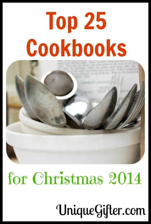 Top 25 Cookbooks for Christmas 2014