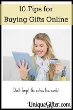 10 Tips for Buying Gifts Online