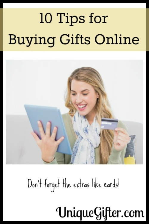 10 Top Tips for Buying Gifts Online