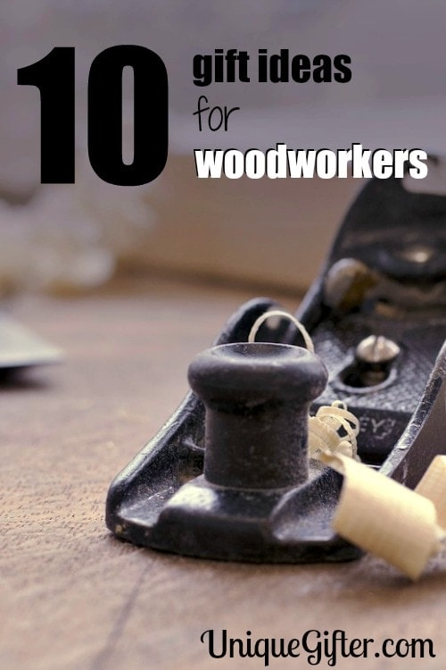 10 great gift ideas for woodworkers. These tools look so cool, I know my husband would love them.