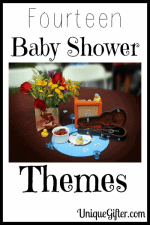 Link Roundup of Baby Shower Themes