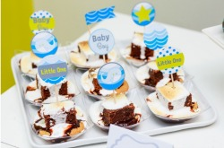 A Whale Themed Baby Shower