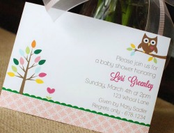 Real Baby Shower: Owl Love You Collection