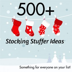 500+ Stocking Stuffers for Adults, Teens and Seniors