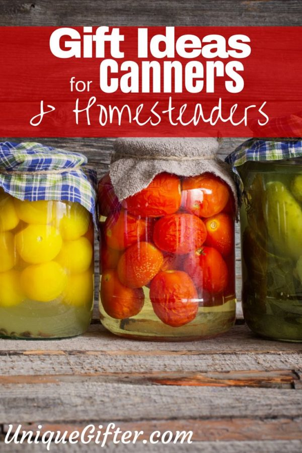 Gift Ideas for Canners and Urban Homesteaders