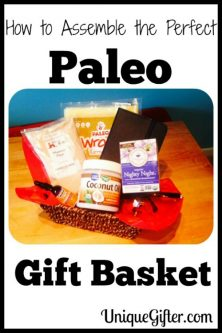 How to Make a Paleo Gift Basket (+Giveaway!)