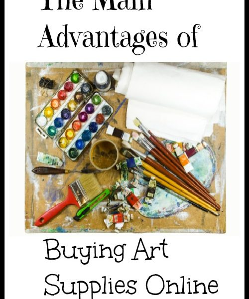 The Main Advantages of Buying Art Supplies Online