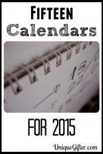 15 Calendars for 2015