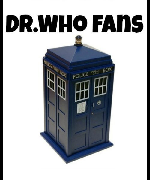 A Gift Guide for Dr. Who Fans