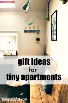 Great gift ideas for my friend who lives in a NYC walkup. It's such a tiny apartment I never know what to get her.