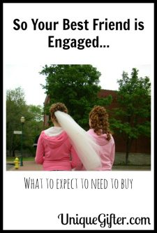 So Your Best Friend Is Engaged? Here's What You'll Need to Buy