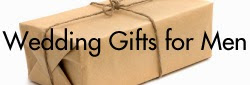 Wedding Gift Ideas for Men. Wedding gifts for him.