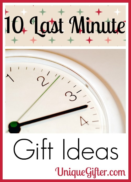 10 last minute gift ideas unique gifter Cancelling a wedding at the last minute