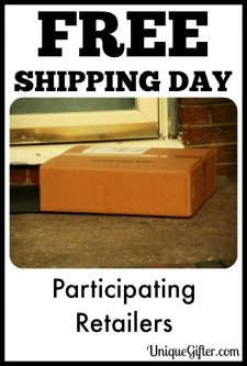It's Free Shipping Day! Here Are Participating Retailers