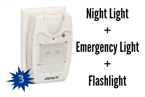 Night Light Emergency Light Flashlight