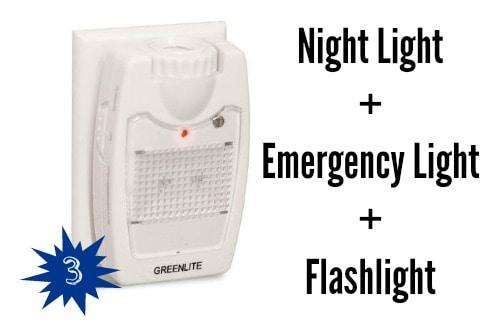 Night Light Emergency Light Flashlight