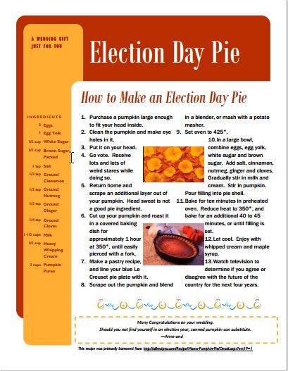 Economist Pie Printable
