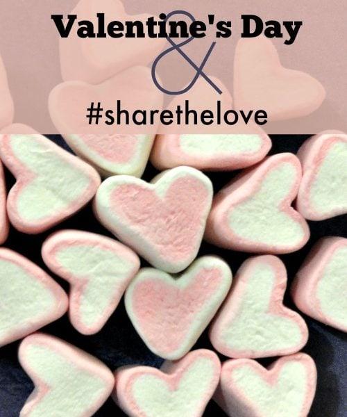 Valentine's Day and #sharethelove
