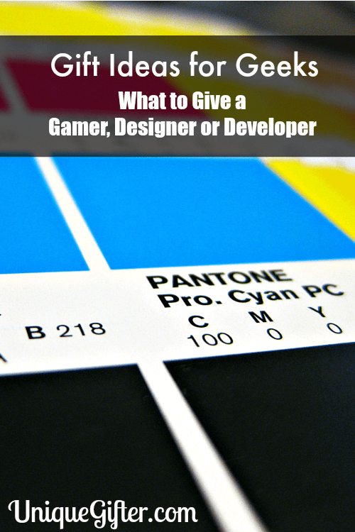 Gifts for Geeks: What to Give a Gamer, Designer or Developer