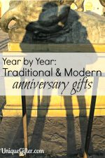 Wedding Anniversary Gifts By Year Traditional And Modern : Year by Year: Traditional and Modern Wedding Anniversary Gift Ideas