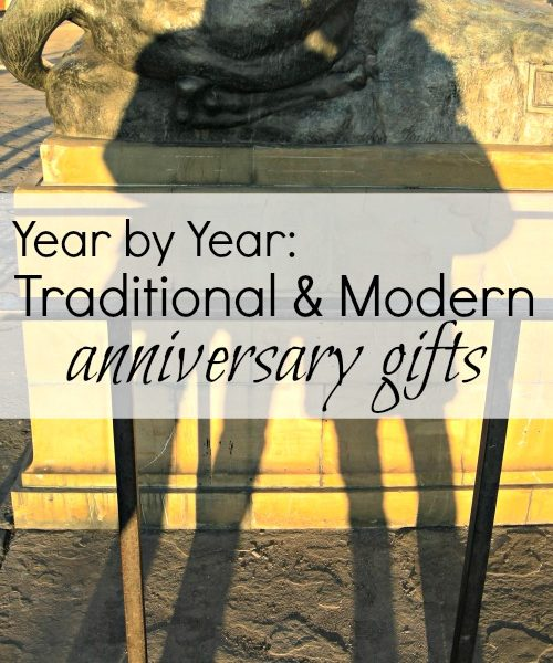 Year by Year: Traditional and Modern Wedding Anniversary Gift Ideas