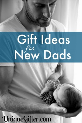 """Finding a baby gift that has that """"Dad"""" characteristic can be difficult. This HUGE selection of Gifts for New Dads has a little something for everyone."""