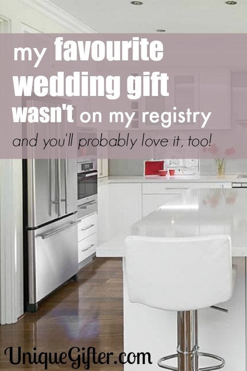 My Favorite Wedding Gift Wasn't on My Registry