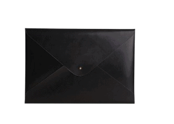 Practical 3rd anniversary gifts for him - leather envelope