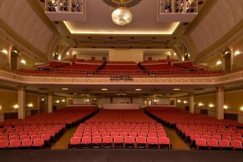 empty theatre seating