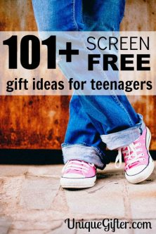 101+ Screen Free Gifts for Teens
