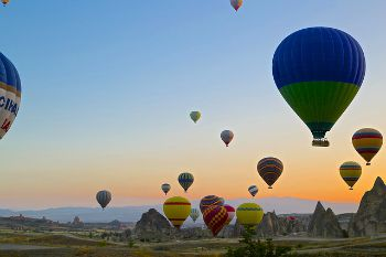 101 Screen Free Gifts for Teens - Hot Air Balloon Ride